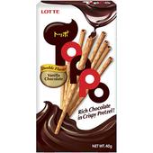 《Lotte》樂天TOPPO巧克力夾心棒(40g/盒)