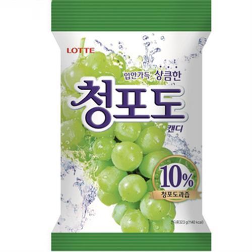 LOTTE 青葡萄果汁糖(128g/包)