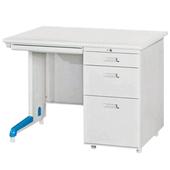 《時尚屋》3.3尺單邊三抽屜辦公桌