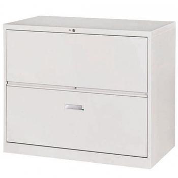 《時尚屋》複合式二層鋼製公文櫃