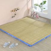 《思美爾》刮青冬夏兩用床墊-單人3尺(藍幸運草)