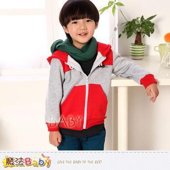 魔法Baby DODOMO品牌~牛角扣連帽厚外套~k30938(5)