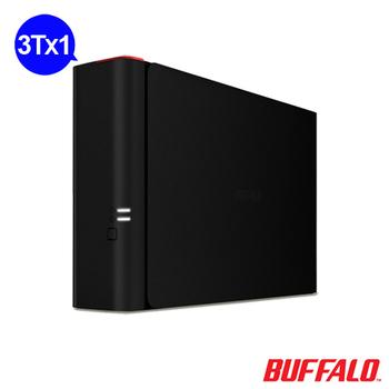 BUFFALO NAS 1bay 3TB 雲端硬碟 (LS410D0301)