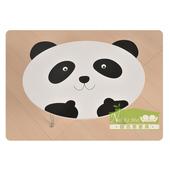 《耐克美》團團圓圓-熊貓摺疊桌(黑白色)