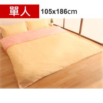 Homebeauty 雙面機能羊毛保暖收納睡墊三件組-單人(草莓布丁)