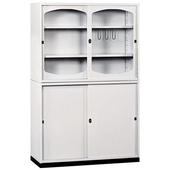 《時尚屋》K415圓框A級4x6拉門鐵櫃