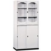 《時尚屋》K315圓框A級3x6拉門鐵櫃