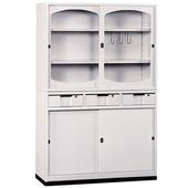 《時尚屋》K414圓框A級4x6中抽鐵櫃