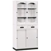 《時尚屋》K314圓框A級3x6中二抽鐵櫃