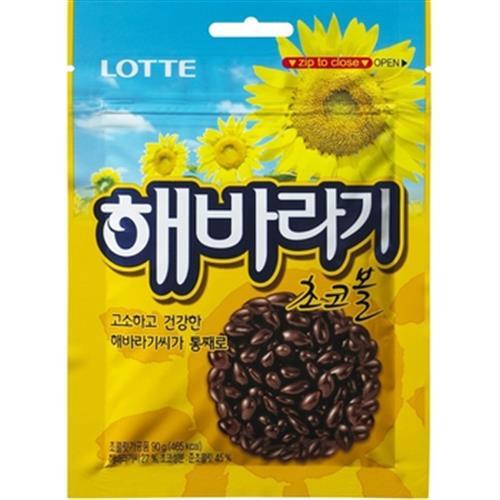 Lotte 樂天陽光葵花籽巧克力(90g/包)