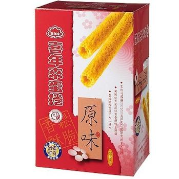 喜年來 原味蛋捲經濟包(192g/盒)
