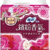《蘇菲》繽紛香氣超薄護墊 14cm-甜心玫瑰(80片/包)