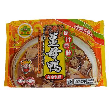 森泉 薑母鴨(1200g/包)
