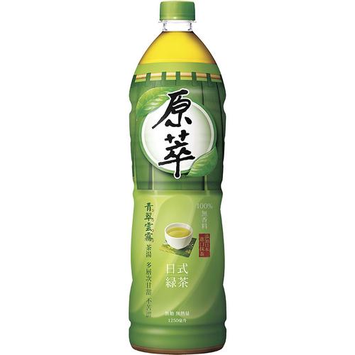 原萃 日式綠茶(1250ml/瓶)