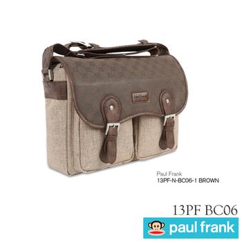 Paul Frank 13PF-N-BC06 時尚型側背包(時尚棕)