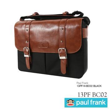 Paul Frank 13PF-N-BC02 經典型側背包(時尚黑)
