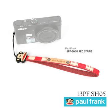 Paul Frank 小DC窄版手腕帶13PF-SH05(紅條紋)