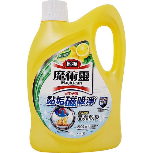 《魔術靈》地板清潔劑-鮮採檸檬(2000ml/瓶)