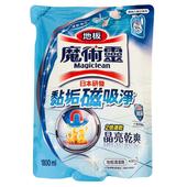 《魔術靈》地板清潔劑補充包-清新海洋(1800ml/包)