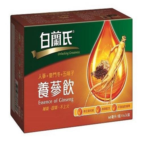 白蘭氏 養蔘飲(60毫升X6瓶裝)