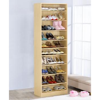 Hopma 新十層鞋櫃(白橡木色)