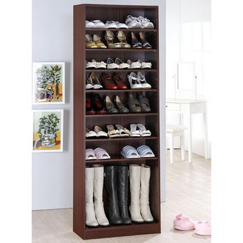 《Hopma》新十層鞋櫃(胡桃木色)