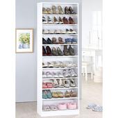 《Hopma》新十層鞋櫃(時尚白)