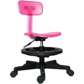 《時尚屋》凱斯踏圈兒童椅(粉色)