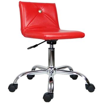 《時尚屋》DIY仙杜拉造型鐵腳辦公椅