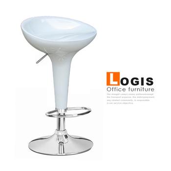 《LOGIS》貝瑞絲吧台椅-三色(白)