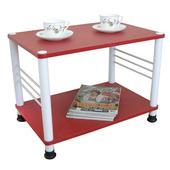 《玩色彩》多用途邊桌-紅色 60*40(固定腳)