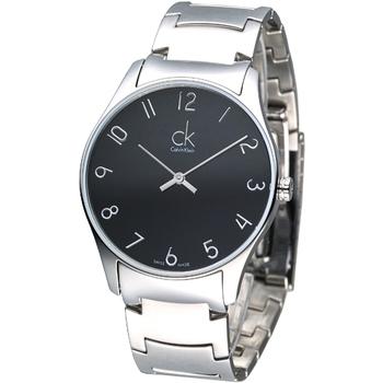 《cK》City 雅爵極簡風鋼帶腕錶-數刻K4D2114X