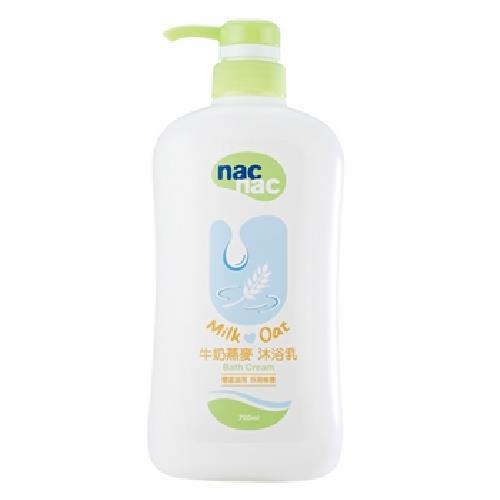 Nac Nac 牛奶燕麥沐浴乳(700ml/罐)