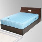 《Homelike》席歐3.5尺床組-單人(胡桃木紋)