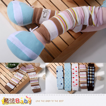 魔法Baby 針織毛線兒童保暖小腿襪套(A.B.C.D.E)~時尚設計~k00170(B)