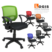 《LOGIS》精巧MIT彩背全網電腦辦公椅-6色(綠色)