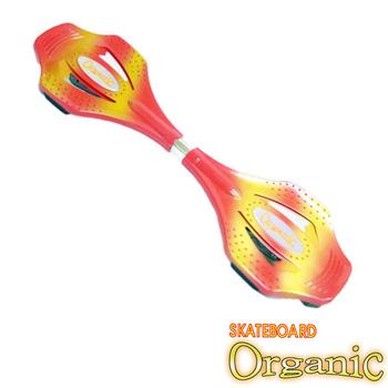 艾可兒 【Organic】鋁合金蛇板/飄移板(紅)