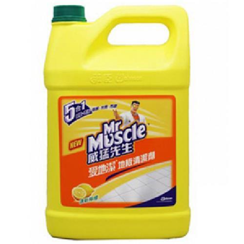 威猛先生 地板清潔劑-檸檬(1加侖/瓶)