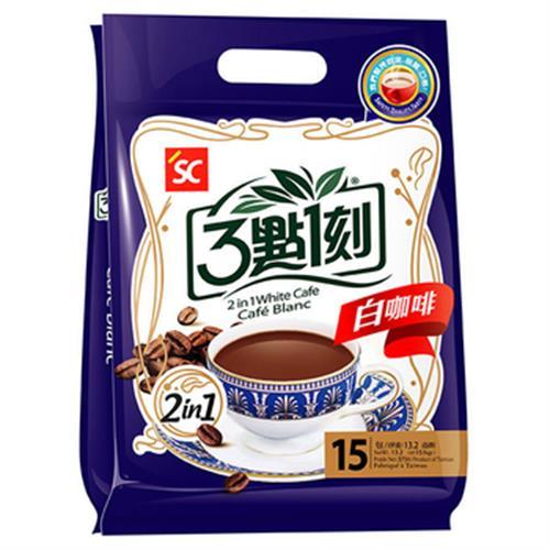3點1刻 二合一白咖啡(25g*15包/盒)