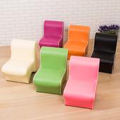 多彩造型椅-6色(黑)