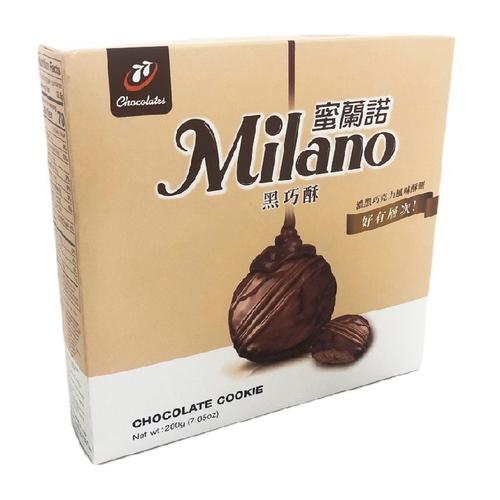 《宏亞》77蜜蘭諾黑巧酥(200g/盒)