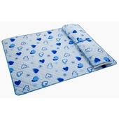 彩漾防水保潔床墊-雙人(藍色)