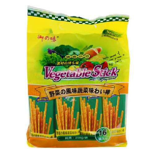 《御之味》蔬菜棒棒餅(256g/袋)