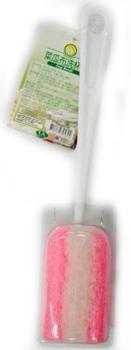 FP 菜瓜布洗杯刷(24.5公分*4.3公分±5%-粉紅色)