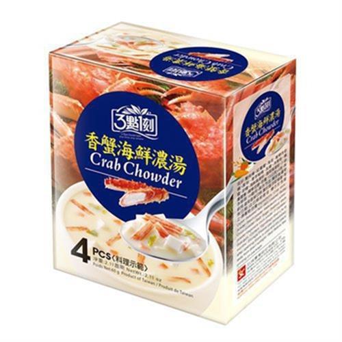 3點1刻 香蟹海鮮濃湯(15g*4包/盒)
