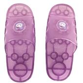 《太松》透明浴室拖-5564(紫-M-25cm)