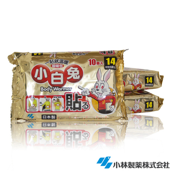 日本小林製藥 小白兔暖暖包-貼式30入
