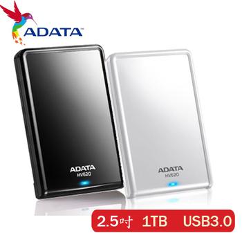 ADATA 威剛 HV620 1TB USB3.0 2.5吋行動硬碟(黑色)