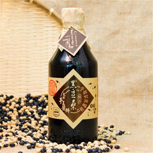黑豆桑 天然極品全能缸底醬油(550ml/瓶)