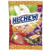 《森永》嗨啾水果軟糖袋裝家庭包330g/包